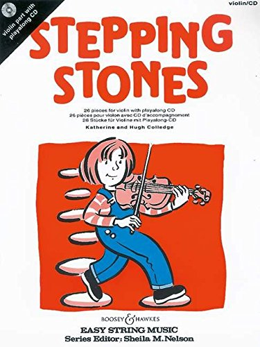9780851623726: Stepping Stones Violon +CD: 26 Pieces for Beginners (Easy String Music)