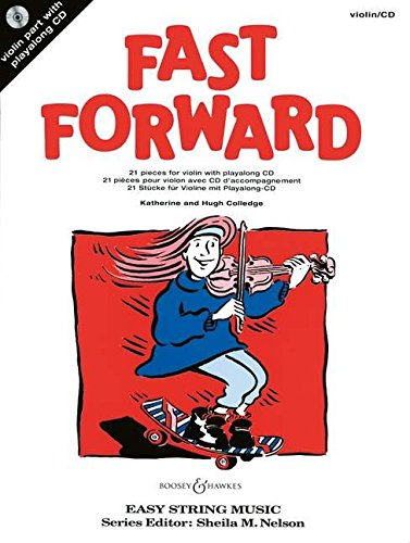 9780851623740: Fast Forward (Easy String Music)
