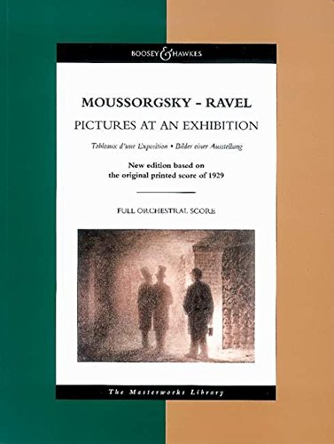 9780851623870: PICTURES AT AN EXHIBITION SCORE (BH6401230) MASTERWORKS LIBRARY (Boosey & Hawkes Masterworks Library)