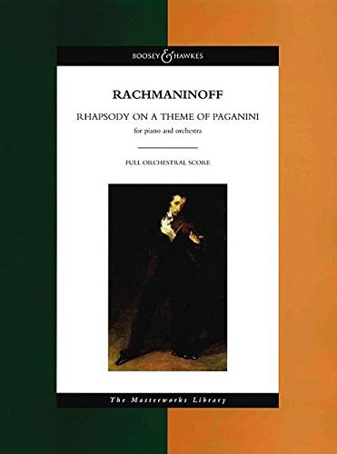 9780851624426: Rhapsody on a Theme of Paganini, Op. 43: The Masterworks Library