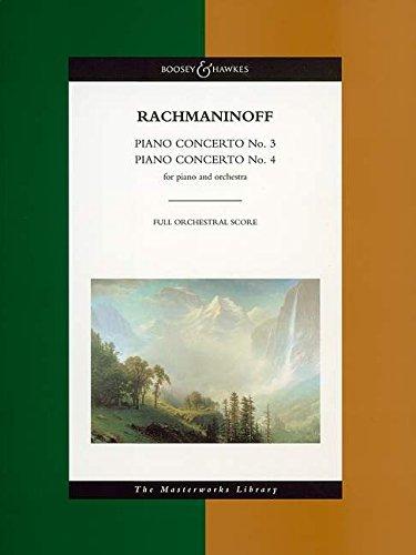 Piano Concertos No3 & No4 Score Masterworks Library: Boosey & Hawkes