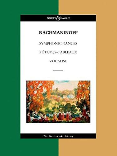 9780851624648: Symphonic Dances, 5 Etudes Tableaux, Vocalise: The Masterworks Library