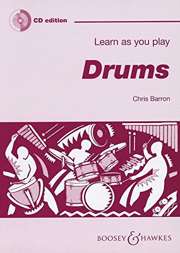 Learn as You Play Drums (Book/CD): Boosey & Hawkes