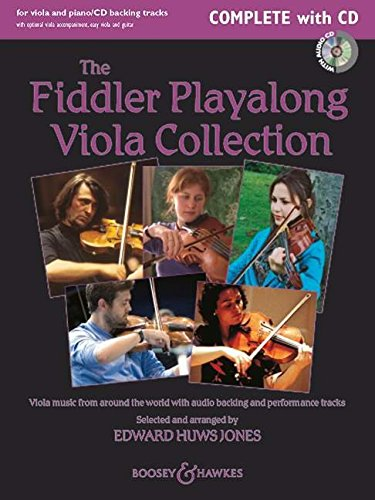 9780851625119: The Fiddler Playalong Viola Collection: Viola Music from Around the World: Viola/Easy Viola / Piano/Viola Accompaniment