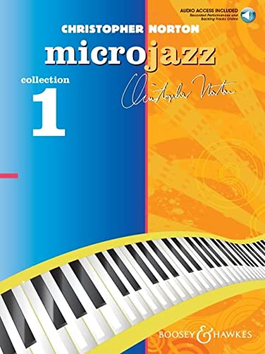 9780851626185: Microjazz Collection 1 for Piano CD with Perf. and Accompaniment Tracks