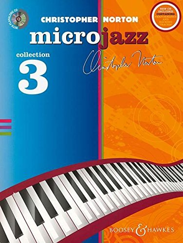 9780851626208: Microjazz Collection 3 for Piano CD with Perf. and Accompaniment Tracks