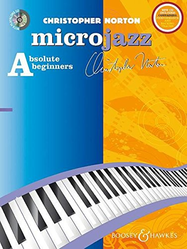 9780851626239: Microjazz For Absolute Beginners New Edition For Piano Bk/Cd