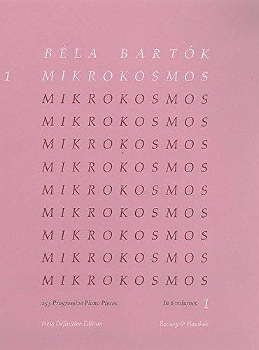 9780851626277: Mikrokosmos Vol 1