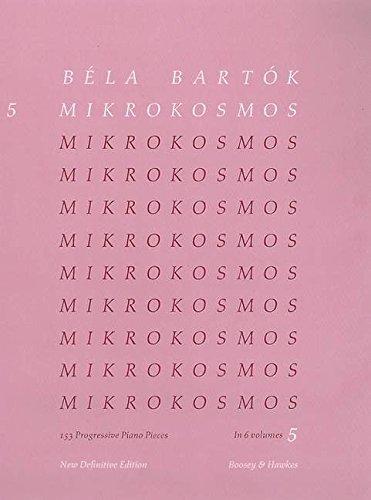 9780851626307: Mikrokosmos: 153 Progressive Piano Pieces, Nos. 122-139: New Definitive Edition: Pink