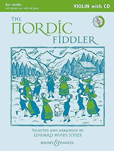 9780851626505: The Nordic Fiddler Violin Edition W/Cd Violin (2 Violins) Guitar Ad Lib (Fiddler Collection)