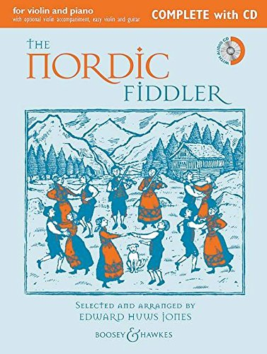 9780851626512: The Nordic Fiddler Complete Edition W/Cd Violin (2 Violins) And Piano Guitar Ad Lib (Fiddler Collection)