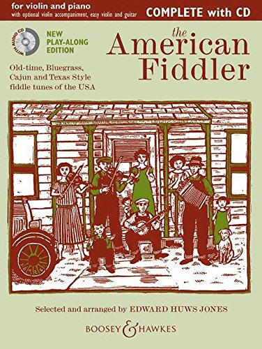 9780851626611: THE AMERICAN FIDDLER COMPLETE VIOLIN AND PIANO BOOK/CD NEW EDITION (Fiddler Collection)