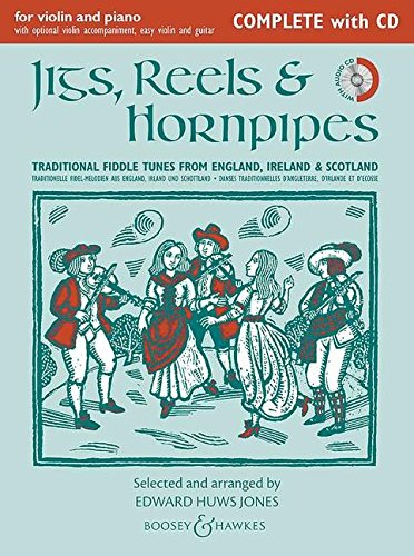 9780851626741: Jigs Reels & Hornpipes (New Edition) Complete Edition W/Cd 1 Or 2 Vln Pno Gtr Ad Lib (Fiddler Collection) (English, French and German Edition)