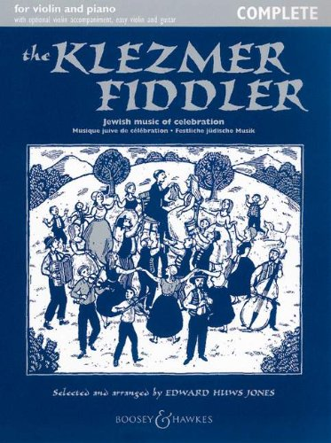 9780851626802: The Klezmer Fiddler: Complete (Book/CD) (Fiddler Collection) (English and German Edition)