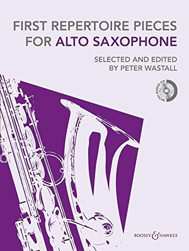 9780851627069: First Repertoire Pieces for Alto Saxophone: 18 Pieces with a CD of Piano Accompaniments and Backing Tracks