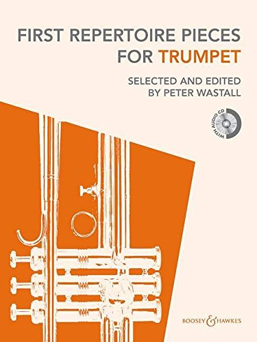 9780851627106: First Repertoire Pieces for Trumpet: 21 Pieces with a CD of Piano Accompaniments and Backing Tracks