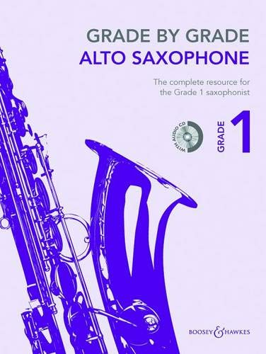 9780851627113: Grade by Grade - Alto Saxophone (Grade 1): With CDs of Performances and Accompaniments