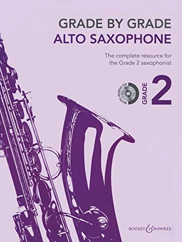 9780851627120: Grade by Grade - Alto Saxophone (Grade 2): With CDs of Performances and Accompaniments