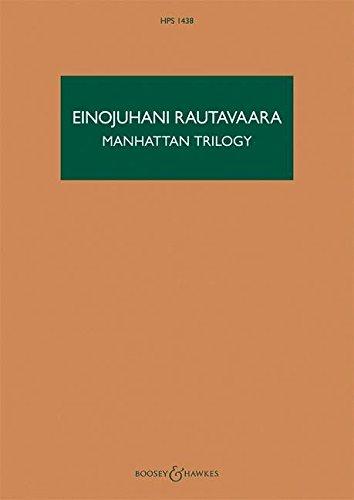 9780851627427: Manhattan Trilogy: For Orchestra, HPS 1438