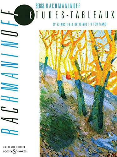 9780851629155: RACHMANINOV - Estudios Tableaux Op.33 y 39 (Completos) para Piano