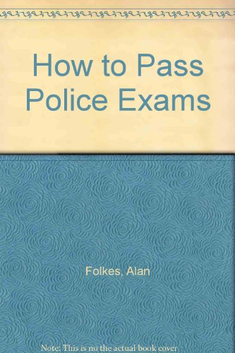 9780851640518: How to Pass Police Exams