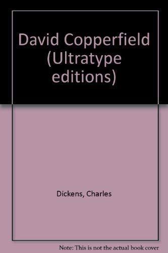 9780851663876: David Copperfield (Ultratype editions)