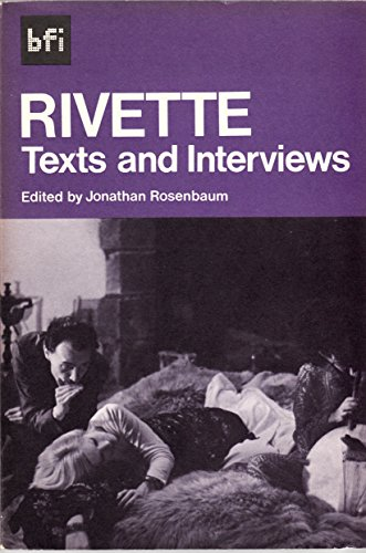 9780851700649: Rivette: Texts and Interviews