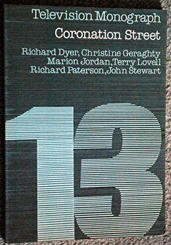 9780851701103: Coronation Street (Television Monograph, 13)