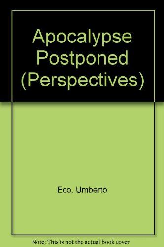 9780851704180: Apocalypse Postponed (Perspectives)