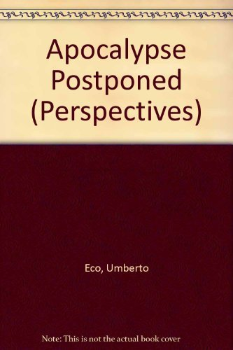 9780851704463: Apocalypse Postponed (Perspectives)