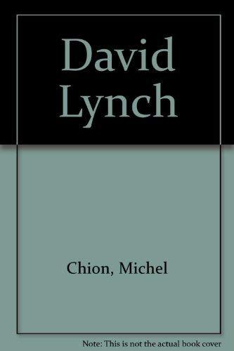 9780851704562: David Lynch