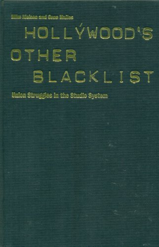 9780851705088: Hollywood's Other Blacklist: Union Struggles in the Studio System