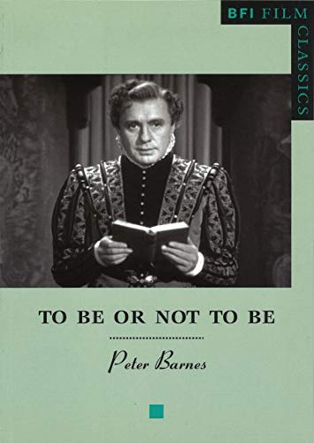 9780851709192: To Be or Not to Be (BFI Film Classics)
