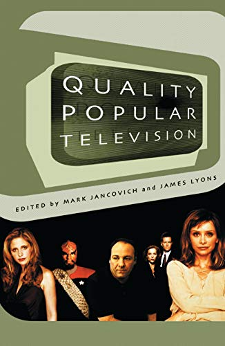 9780851709413: Quality Popular Television: Cult TV, the Industry and Fans (BFI Modern Classics)