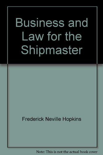 9780851740997: Business and Law for the Shipmaster