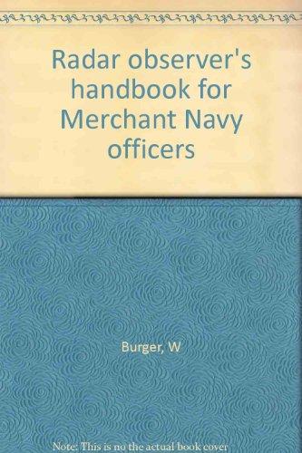 9780851742311: Radar Observer's Handbook for Merchant Navy Officers