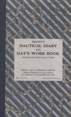 9780851743486: Brown's Nautical Diary and Days Work Book
