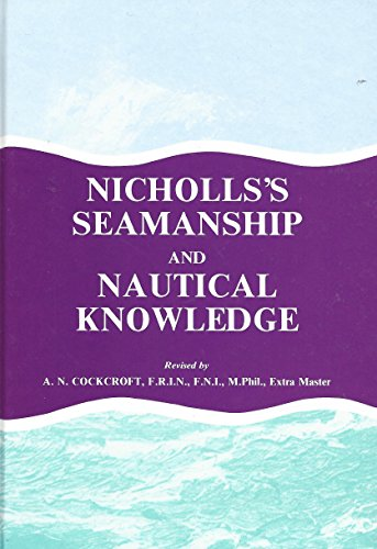 9780851746074: Nicholls's Seamanship and Nautical Knowledge