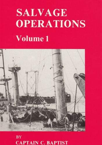 9780851746487: Salvage Operations: v. 1