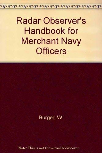 9780851746661: Radar Observer's Handbook for Merchant Navy Officers