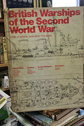 9780851770215: British Warships of the Second World War