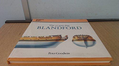 The 20 Gun Ship Blandford Anatomy Of A Ship Series By Goodwin