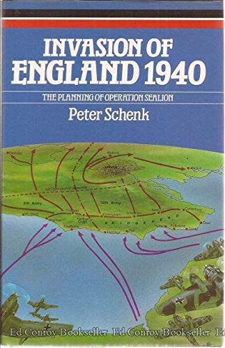 9780851775487: Invasion of England, 1940: Planning of Operation Sea Lion