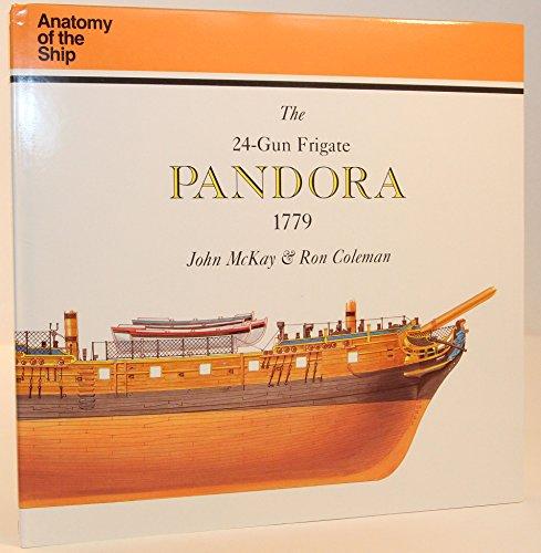 9780851775838 The 24 Gun Frigate Pandora Anatomy Of The Ship