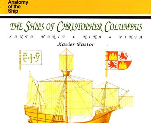 The Ships Of Christopher Columbus Santa Maria Nina Pinta Anatomy