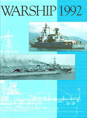 9780851776033: Warship 1992 (Conway's naval history after 1850)