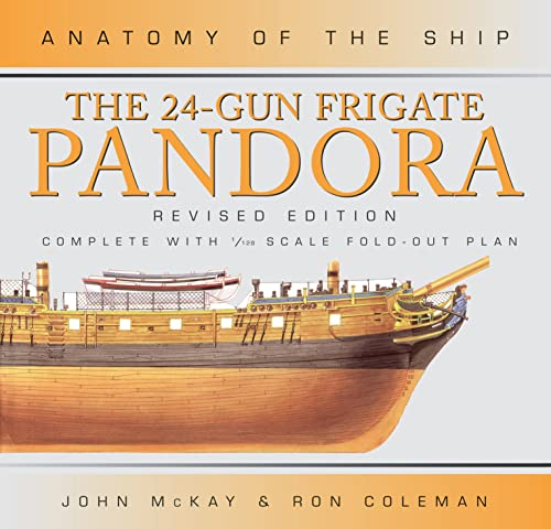 9780851778945: The 24-Gun Frigate Pandora (Anatomy of the Ship)