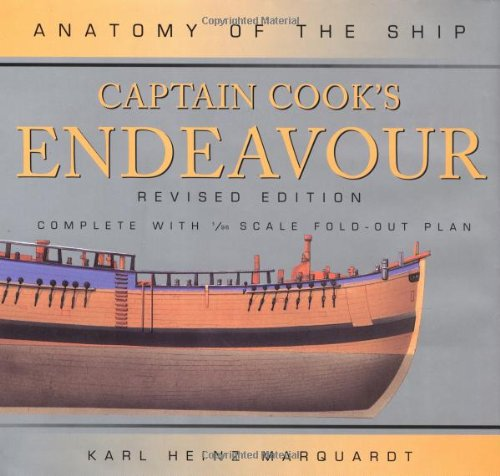 9780851778969: Captain Cook's Endeavor (Anatomy of the Ship)
