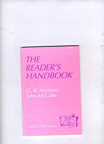 Readers' Handbook (9780851835228) by G.B. Harrison; John McCabe
