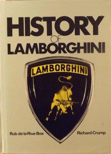 9780851840109: History of Lamborghini